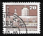 Sellos de Europa - Alemania -  Altes Rathaus, Leipzig