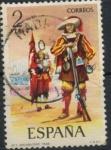 Sellos del Mundo : Europa : España : ESPAÑA_SCOTT 1795 UNIFORMES MILITARES. $0,2