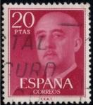 Sellos del Mundo : Europa : España : ESPAÑA_SCOTT 1855 GENERAL FRANCO. $0,2