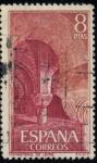 Sellos del Mundo : Europa : España : ESPAÑA_SCOTT 1863 MONASTERIO DE LEIRE. $0,2