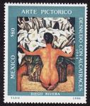 Sellos de America - México -  ARTE PICTÓRICO -Diego Rivera