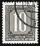 Stamps Germany -  Numeros