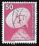 Sellos de Europa - Alemania -  Raisting earth station