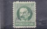Stamps : America : Cuba :  Martí