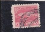 Stamps : America : Cuba :  palacio de comunicaciones
