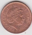 monedas del Mundo : Europa : Reino_Unido :  p anverso