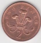 monedas del Mundo : Europa : Reino_Unido :  p reverso