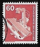 Stamps Germany -  Rayos X