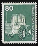 Stamps Europe - Germany -  Maquinaria Agrícola