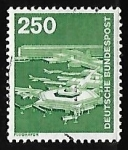 Stamps Europe - Germany -  Aeropuerto de Frankfurt