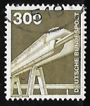 Stamps Europe - Germany -  Ferrocarriles