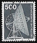 Stamps Europe - Germany -  Radio telescope