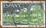 Sellos del Mundo : Europa : España : Monasterio de Sta. Mª. de Ripoll - Claustro
