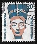 Stamps Europe - Germany -  CABEZA NEFERTITI MUSEO EGIPTO