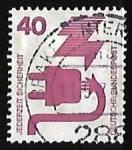 Stamps : Europe : Germany :  Prevencion de accidentes
