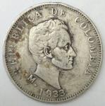 monedas de America - Colombia -  Luis Alberto