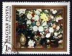 Sellos de Europa - Hungría -  Flowers, by István Csók