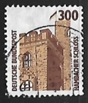 Stamps Germany -  Hambach castle