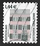 Sellos de Europa - Alemania -  Beethoven House, Bonn