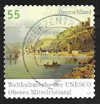 Stamps : Europe : Germany :  Rhine Valley