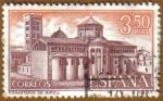 Sellos de Europa - España -  Monasterio de Sta. Mª. de Ripoll - Vista general