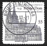 Stamps : Europe : Germany :  Catedral de Colonia
