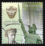 Stamps : Europe : Germany :  2000 years Varus battle