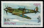 Sellos del Mundo : Asia : Bhután : Spitfire