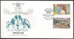 Stamps : Africa : Swaziland :  25 Aniversario coronación Elizabeth II - sobres de primer día