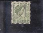 Sellos de Oceania - Australia -  aniversario Reina Isabel II