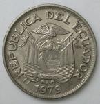 monedas de America - Ecuador -  1979 - 1  sucre