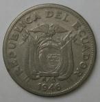 monedas de America - Ecuador -  1946 - 1 sucre