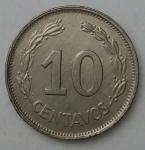 monedas de America - Ecuador -  1972 - 10 centavos