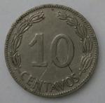 monedas de America - Ecuador -  1968 - 10 centavos