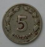 monedas de America - Ecuador -  1946 - 5 centavos
