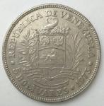 monedas de America - Venezuela -  1973 - 5 bolivares
