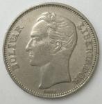 monedas de America - Venezuela -  1967 - 2 bolivares