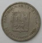 monedas de America - Venezuela -  1965 - 50 centimos
