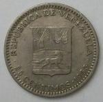 monedas de America - Venezuela -  1965 - 25 centimos