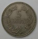 monedas de America - Venezuela -  1964 - 5 centimos