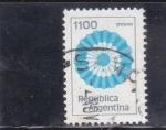 Sellos de America - Argentina -  Escarapela Argentina