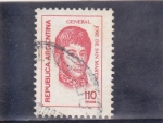 Stamps Argentina -  José de San Martí
