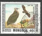 Sellos de Asia - Mongolia -  Protected birds