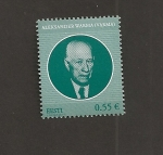 Stamps Estonia -  Presidente Aleksander Warma