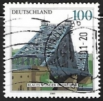 Stamps Germany -  Puente - Dresden