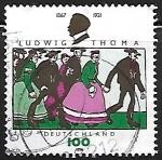 Sellos de Europa - Alemania -  Thoma, Ludwig