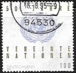 Stamps Germany -  50th Anniv. of United Nations Organisation