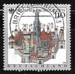 Stamps Germany -  1,100th Anniv. of Nordlingen