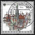 Sellos de Europa - Alemania -  1,100th Anniv. of Nordlingen