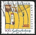 Sellos de Europa - Alemania -  Birth Centenary of Erich Kastner